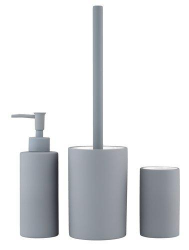Escobilla de baño NYHAMMAR gris