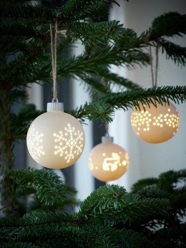 Joulukuusenkoriste SNORRE LED