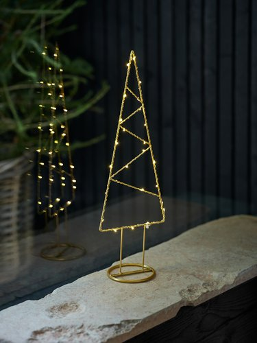 Christmas tree AMETYST H51cm w/LED