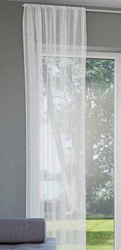 Záclona MARISKO 1x280x300 biela
