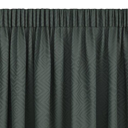 Zavesa LYGNE 1x140x300 zelena