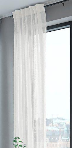 Zavesa SKORPA 1x140x300 bela