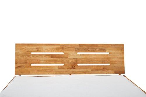 Cadre de lit OLSKER 140x190 chêne