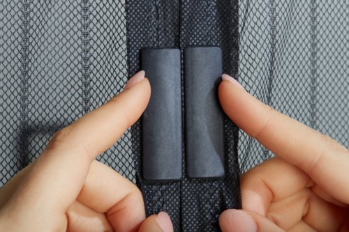 Zanzariera BRIMSE 50x210 per porta nero