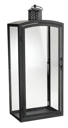 Lantaarn REINAR B17xL25xH60 zwart