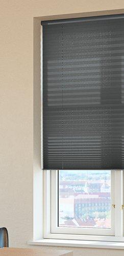 Plisségardin HOVDEN 100x160cm grå