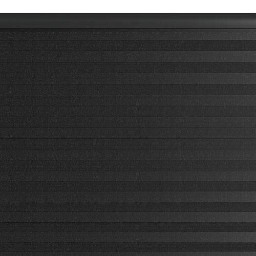 Plisségardin HOVDEN 110x160cm sort