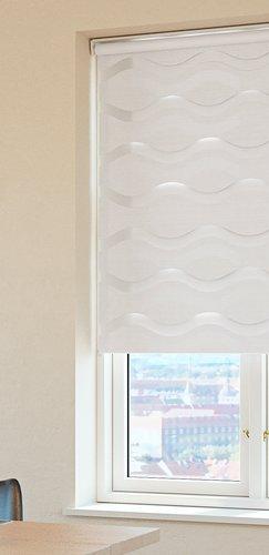 Doppelrollo EIKA 70x160 weiß