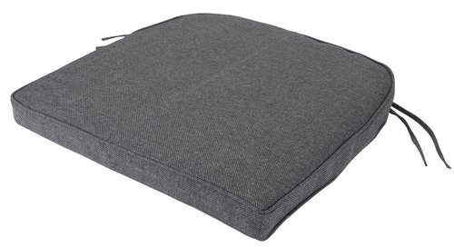 Cojín de asiento UDSIGTEN gris oscuro