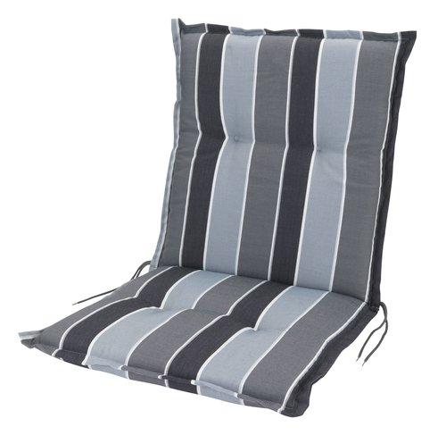 Cojín silla respaldo alto SEVILLA gris