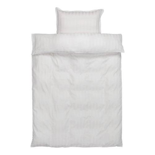 Set posteljine 140x200 saten NELL bijela