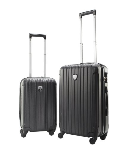 Koffer COMFORTRAVEL 2 Stk/Set schwarz