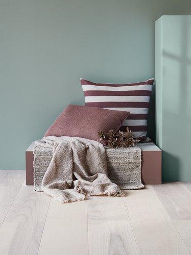 Cushion LILJE velour 35x50 rose