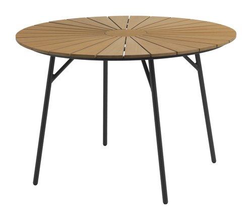 Stůl RANGSTRUP Ø110 přírodní