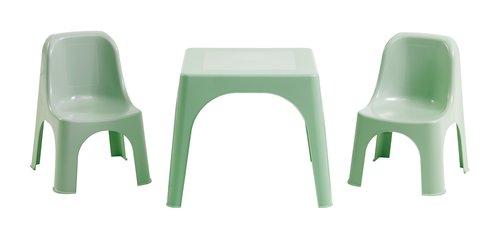 Sedia bambini JULEJUNGE verde chiaro