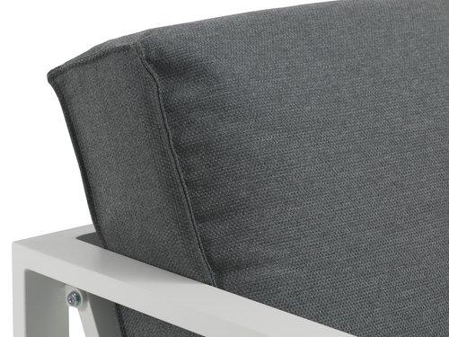Loungeset VONGE 5-sits vit