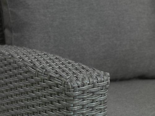 Set muebles jardín ULLEHUSE 6 pers gris