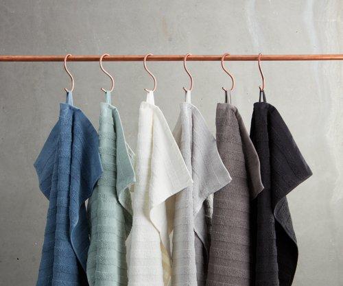 Badehåndklæde TORSBY 65x130 grå