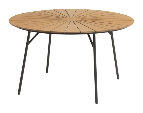 Table RANGSTRUP Ø130 nature