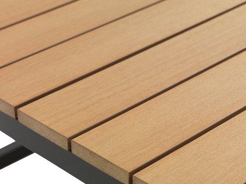 Τραπέζι σαλονιού GAMST Π75xΜ75 φυσικό