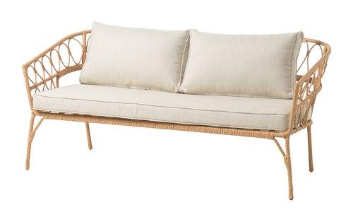 Loungesoffa JENNUM 2,5-sits natur