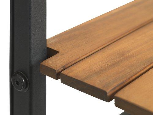 Balkongbord INDHOLT B43xL57 natur