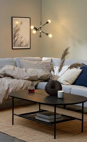 Bedding set TANJA Yarn dyed SGL khaki