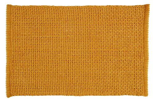 Alfombrilla baño NOLVIK 50x80 amarillo