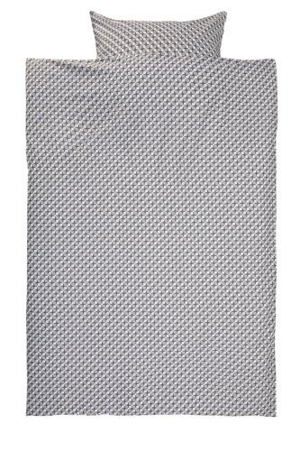 Parure de lit TWEED 200x220 gris