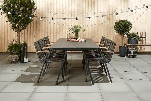 Table FAUSING W100xL220 black