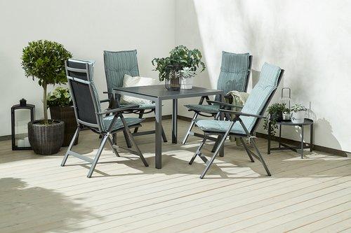 Pernă scaun reglabil TORSBJERG verde