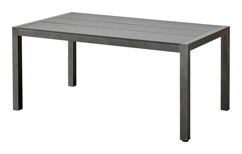 Tavolo ATLANTA P92xL160 grigio