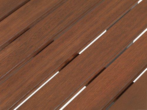 YTTRUP D75/126 drevo+4 LARVIK sivá