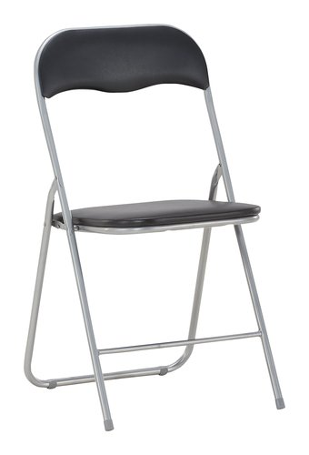 Складной стул VIG черный