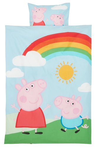 Dekbedovertrek PEPPA PIG 100x140