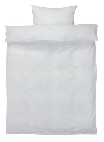 Σετ παπλωματοθήκης DANA 140x200 λευκό