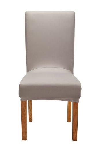 Capa cadeira SVALEURT 42x37x68 taupe