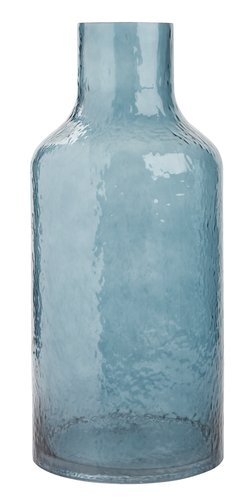 Vaso HEINO Ø18xA40cm azul