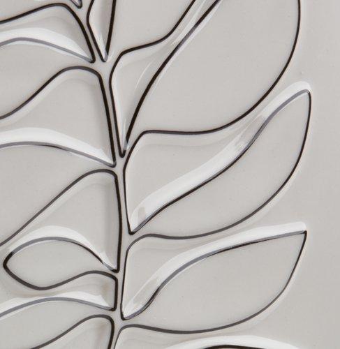 Závěsná dekorace HALLVARD 16x22 cm bílá