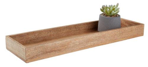 Plateau décoratif BILL l15xL50cm bois