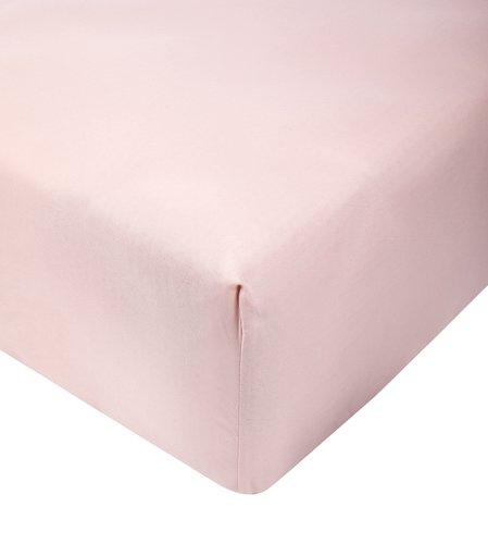 Sábana ajustable 150x190x25cm rosa