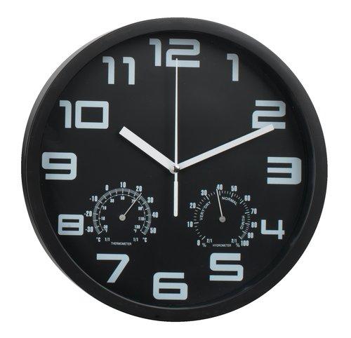 Relógio de parede SEJER Ø25cm preto