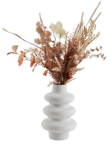Vase ALVIS Ø20xH30cm blanc