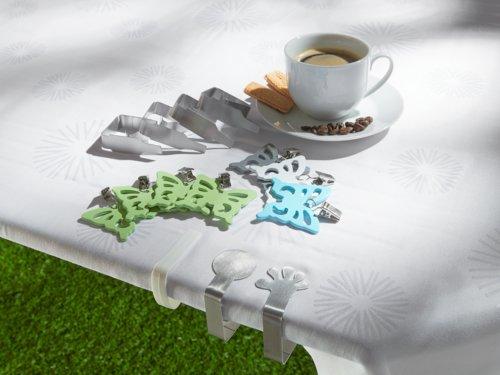 Tischdeckenclips CLIP 4er-Set weiß