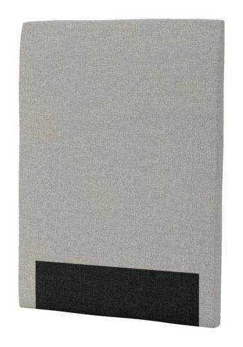 Sengegavl H30 CURVE 90x125 grå-29
