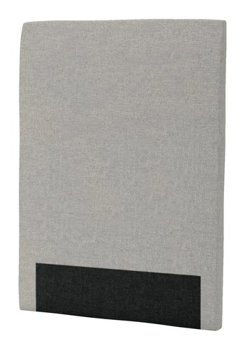 Hoofdbord 90x125 H30 rond grijs-29