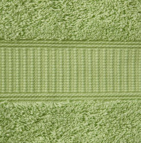 Manopla de baño KRONBORG DE LUXE verde