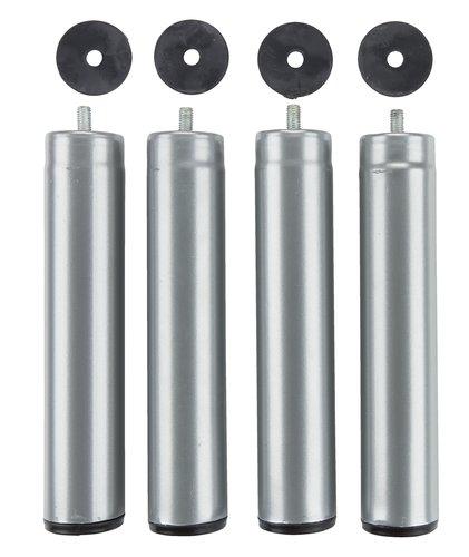 Pernas Ø5xA25cm metal conj de 4