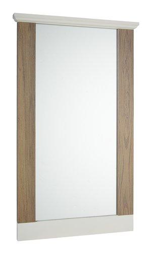 Specchio ORLANDO 60x100 bianco/grigio