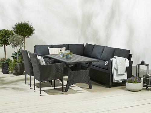 Baštenska stolica AIDT crna